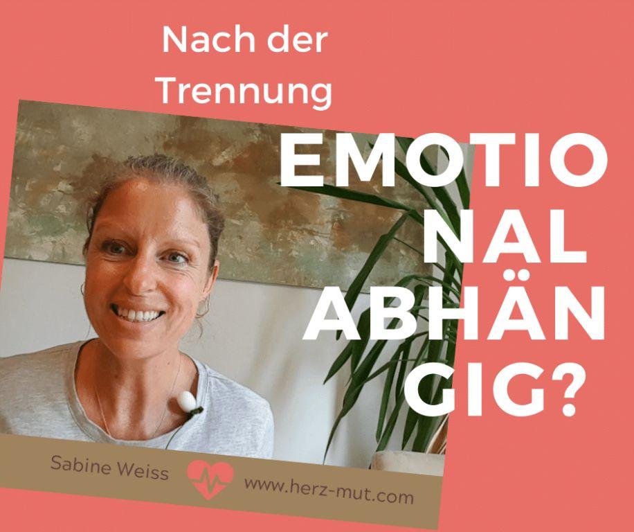 Emotionale Abhängigkeit vom Partner