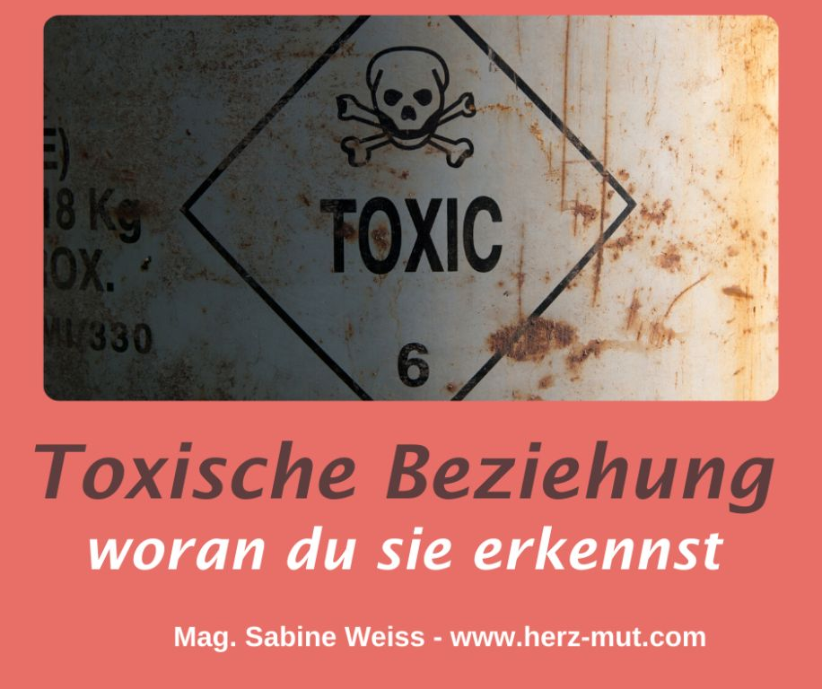 Erkenne eine toxische Beziehung